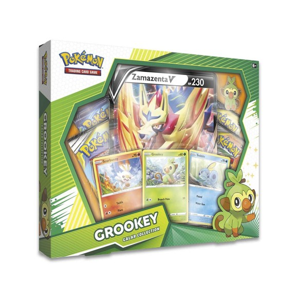 Pokémon - Poke Box Galar Collection - Grookey (Pokemon Kort)