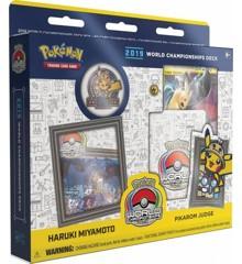 Pokemon - Deck Champion World 2019 - Pikarom Judge