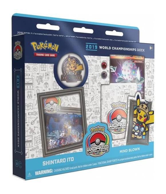 Pokemon - Deck Champion World 2019 - Mind Blown (Pokemon Kort)