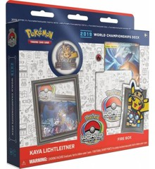 Pokemon - Deck Champion World 2019 - Fire Box (Pokemon Kort)