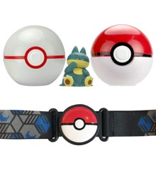 Pokemon - Clip 'N Go Poke Ball Belt - Munchlax (97775)