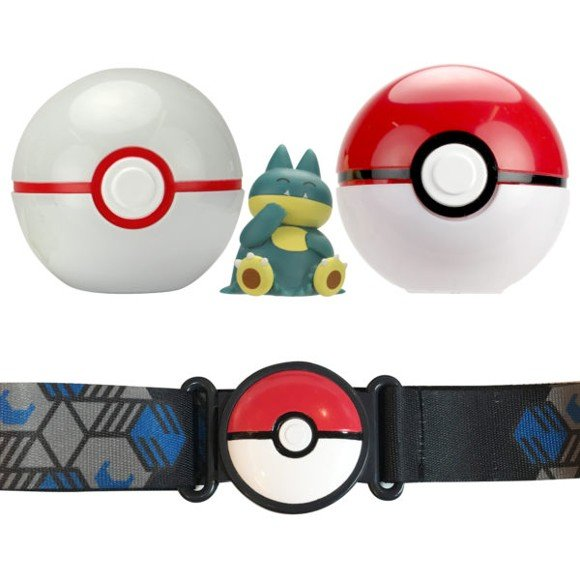 Pokemon - Clip 'N Go Poke Ball Belt - Munchlax