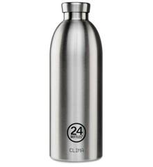 24 Bottles - Clima Bottle 0,85 L - Stål