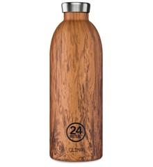 24 Bottles - Clima Bottle 0,85 L - Sequoia Wood (24B437)
