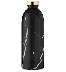 24 Bottles - Clima Bottle 0,85 L -  Black Marble (24B434)