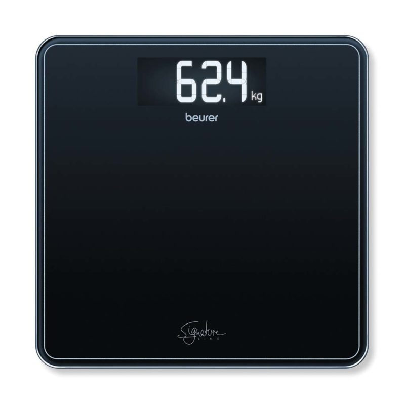 Beurer - GS 400 Bathroom Scale Glass ( Black ) - 5 Year warranty