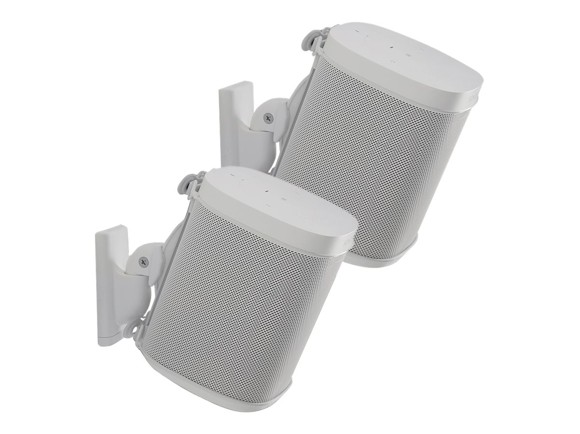 SANUS - Universal SONOS wall mount Pair White