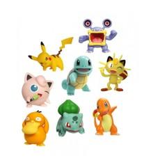 Pokemon - Figur 8-Pakke - 5 cm & 8 cm