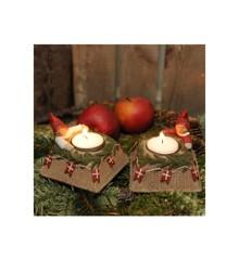 Klarborgnisser - Puk & Pai Candle Holder (93489)