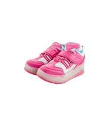 Outsiders - Roller Shoes with LED - Pink/Silver (size: 28)