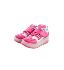 Outsiders - Roller Shoes with LED - Pink/Silver (size: 32)