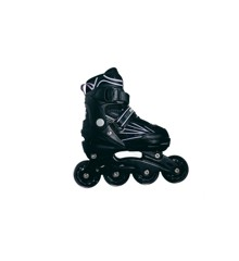 Outsiders - Adjustable Kids Inline Rollerblades -  Light Purple (size: 35-38)