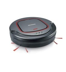 Severin - Vaccum Robot Cleaner - Antracit/Red (493820)