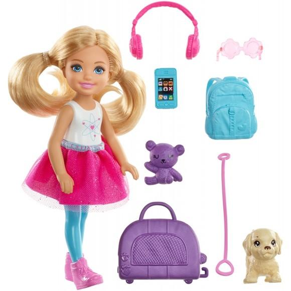 Barbie - Travel Chelsea Doll (FWV20)