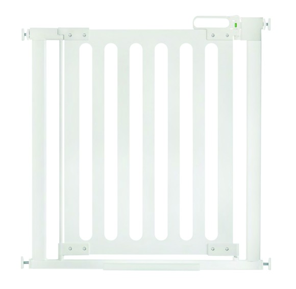 SAFE - SafeGate Wood Pressure Fit - White - 76 – 82 cm
