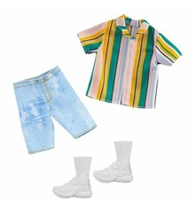 Barbie - Ken Clothes - Shorts, T-shirt and Sneakers (GHX46)