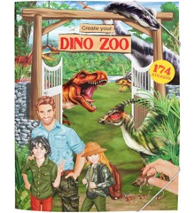 Create Your - Dino Zoo Klistermærkebog