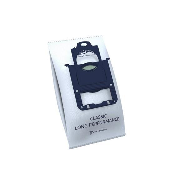 Electrolux - E201S s-bag Classic Long Performance Vacuum Bag - 4 pcs