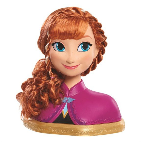 Disney Frozen - Deluxe Anna Styling Hoved