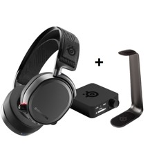 Steelseries - Arctis Pro Wireless + Headset stand HS - Bundle