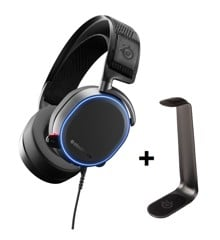 Steelseries - Arctis PRO + Headset stand HS 1 - Bundle