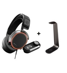 Steelseries - Arctic PRO DAC + Headset stand HS 1 - Bundle