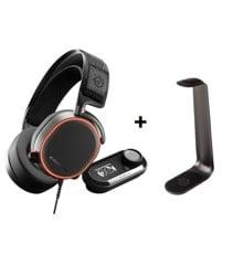 Steelseries - Arctis PRO DAC + Headset stand HS 1 - Bundle