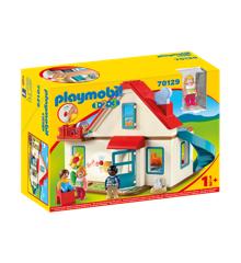 Playmobil - 1.2.3 Familie Hus