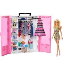 Barbie - Fashionistas - Ultimative Tøjskab med Dukke & Tilbehør