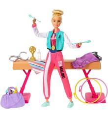 Barbie - Gymnastics Playset (GJM72)