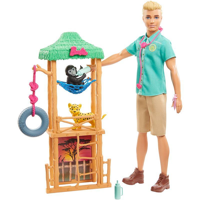 Barbie - Ken Wildlife Vet Doll (GJM33)