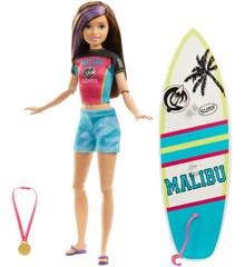 Barbie - Dreamhouse Adventures - Sports Sisters - Skipper Surfing (GHK36)