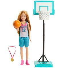 Barbie - Dreamhouse Adventures - Sports Sisters - Stacie Basketball (GHK35)