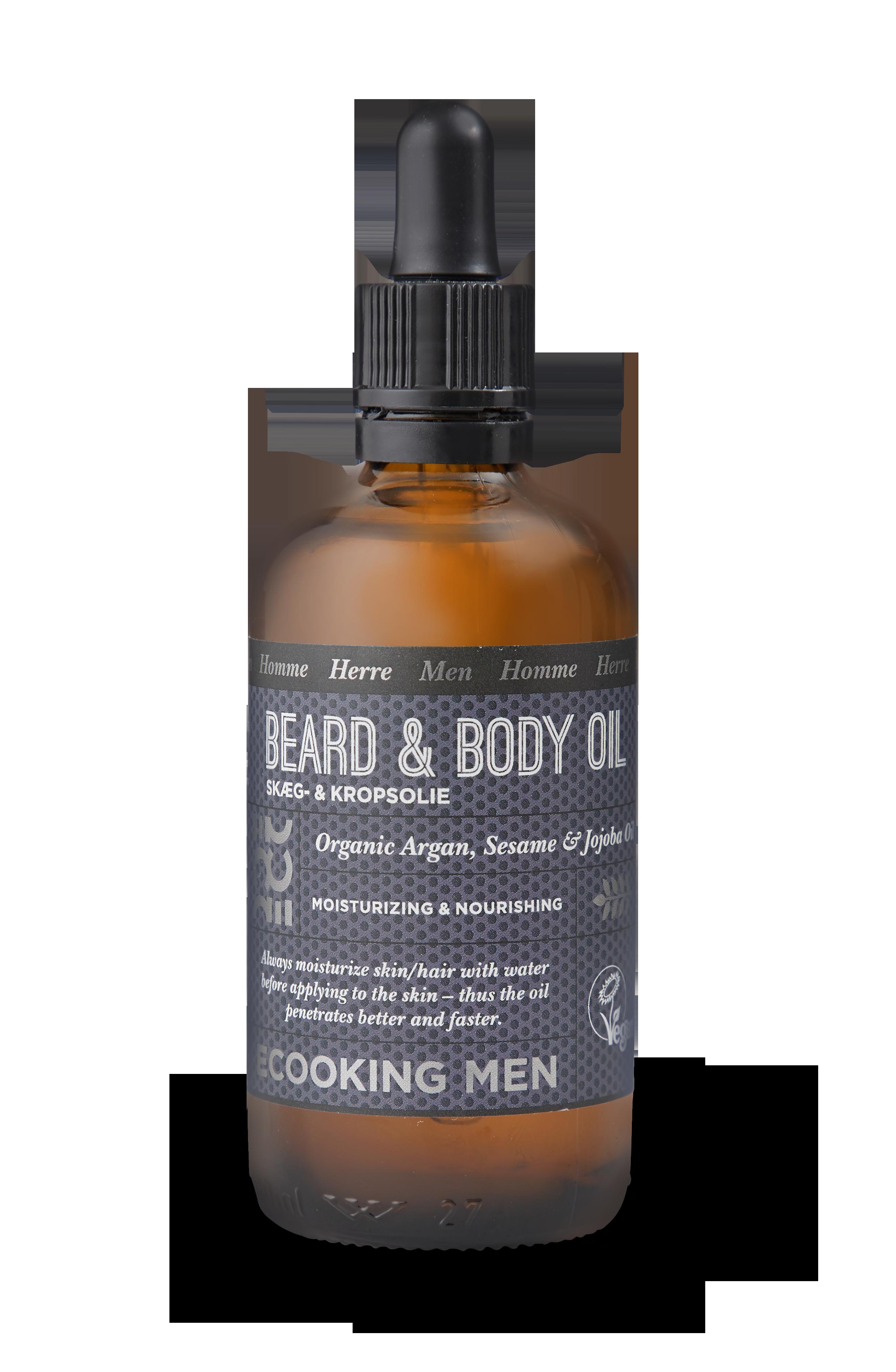Ecooking - Men Beard & Body Oil 100 ml