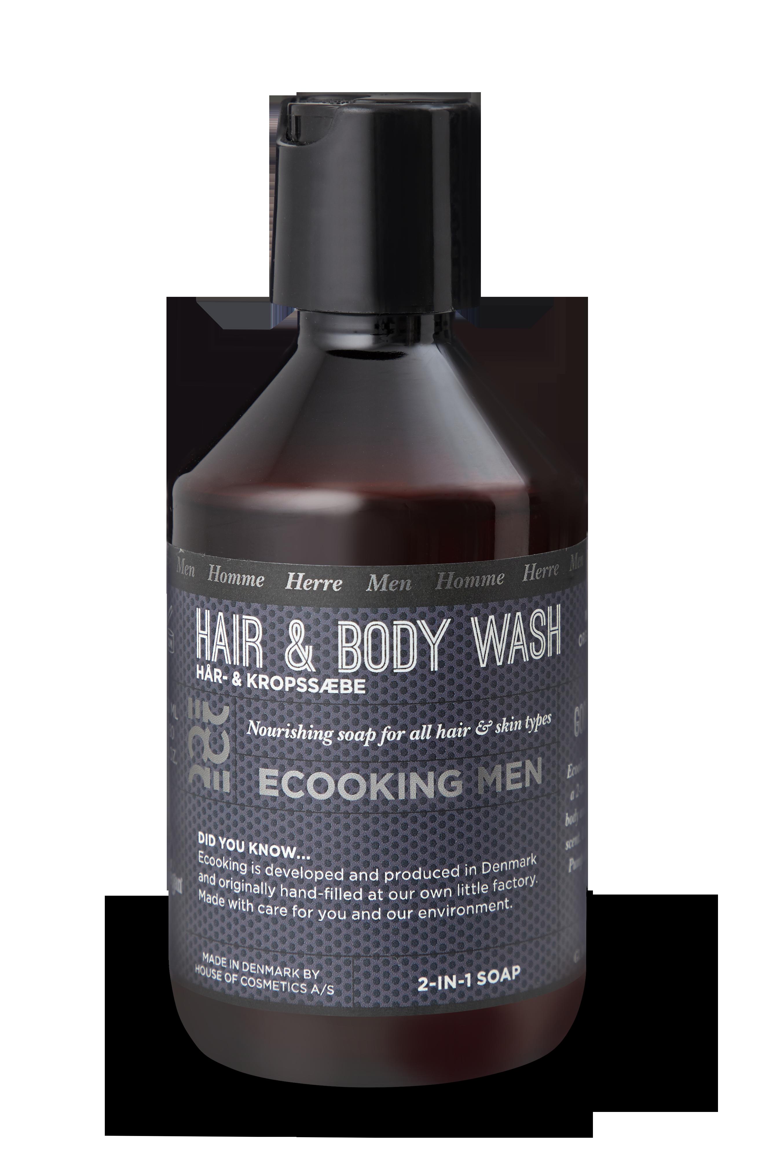 Ecooking - Haar- und Körpershampoo für Männer 250 ml