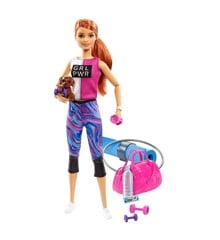 Barbie - Wellness - Fitness Dukke (GJG57)
