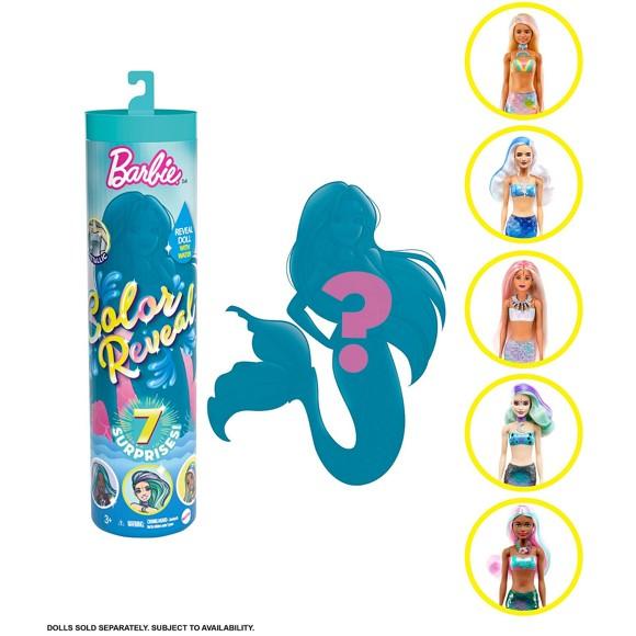 Barbie - Color Reveal Dukke (serie 4) - Havfrue
