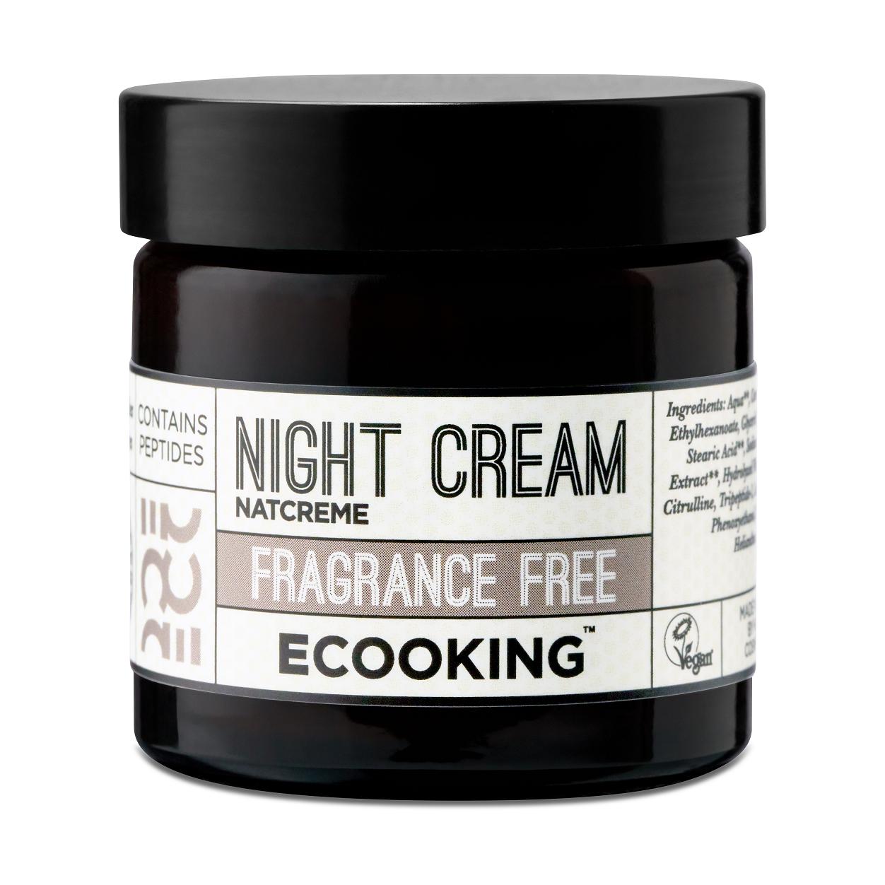 Ecooking - Nachtcreme parfümfrei 50 ml