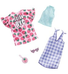 Barbie - Fashions: 2-Packs - Checkers and Strawberries (GHX61)