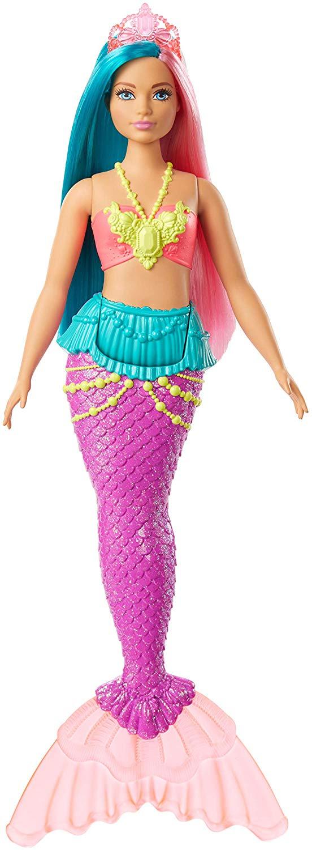 Barbie - Dreamtopia Mermaid Doll (Curvy) (GJK11)