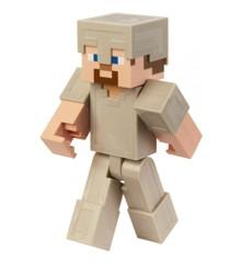 Minecraft - 8.5inch Large Figure - Steve in Iron Armor (GGR04)