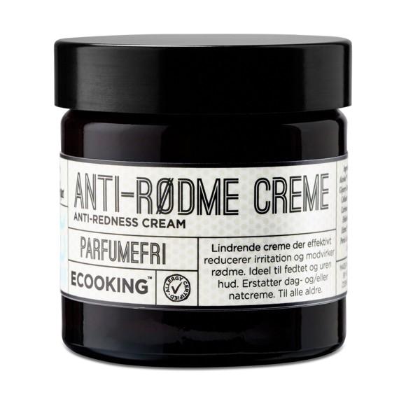 Ecooking - Anti Rødme Creme Parfumefri 50ml