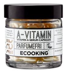 Ecooking - A-Vitamin Kapsler 60 stk