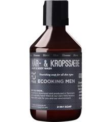 Ecooking - Men Hår & Krop Shampoo 250 ml