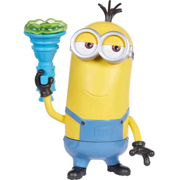 Minions - Mighty Minions - Kevin med Pruttepistol 20cm