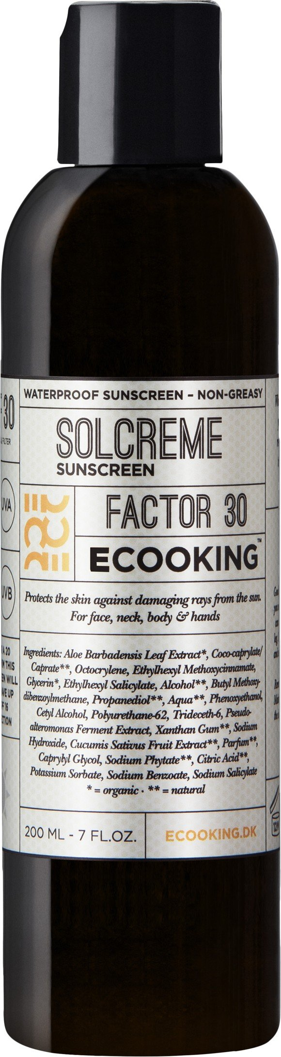 Ecooking - Solcreme SPF 30 200 ml