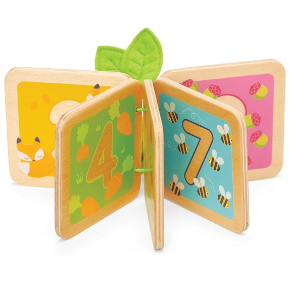 Le Toy Van - Wooden Baby Counting Book (LPL114)