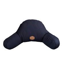 Filibabba - Barnevognspude, Soft quilt, Mørkeblå