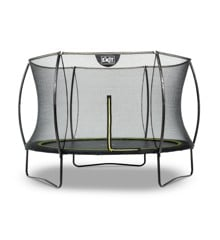 EXIT - Silhouette Trampoline ø 305 cm with Safety Net - Black (12.93.10.00)