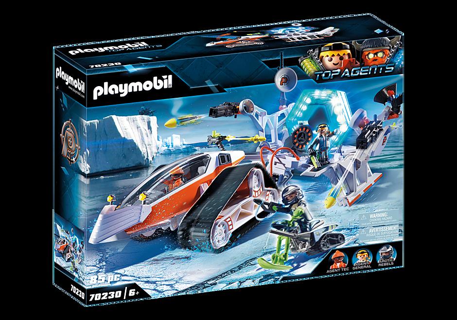 Playmobil - Spy Team Command Sled (70230)